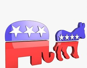 3D Political Icons
