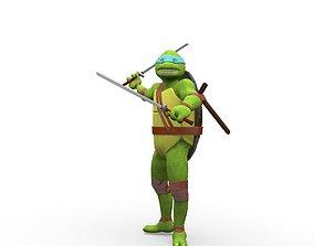 3D model Teenage Mutant Ninja Turtles - Leonardo