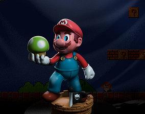 games-toys 3D print model Mario