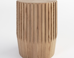Gloster Arbor Side Table 3D