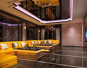 Bar karaoke Room Design 3D model