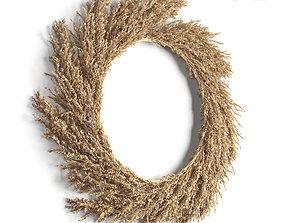 Pampas wreath 3D model