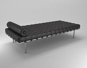 barcelona daybed 3D model