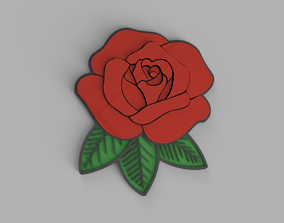 Rose Logo 3D print model