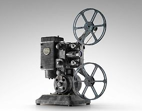 Ampro 16MM Projector retro 3D model