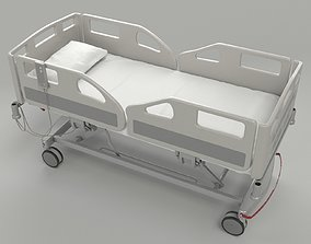 Hospital Bed for VRAY 3D model