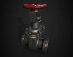 3D asset pipe valve