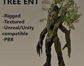 3D model Ent tree character