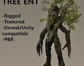 3D asset Ent tree character