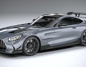 3D model Mercedes AMG GT Black Series 2021 LowPoly