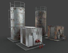 Water tank 3D asset