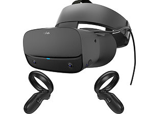3D model Oculus Rift S with Controllers
