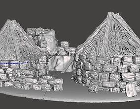 Iron Age houses 3D printable model