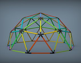 3D print model Dome 2V Assembly Kit 6 m diameter