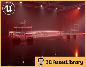Music Sets Vol 1 For Unreal 3D model