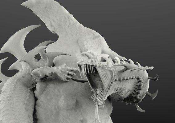 Dalamadur from Monster hunter 4 Ultimate