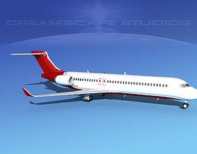 3D Comac ARJ21-700 Corporate 1