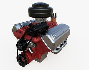 Vintage HEMI engine 3D