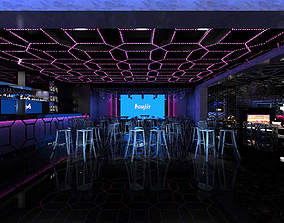 Disco bar KTV Entertainment Night club Stage A981 3D