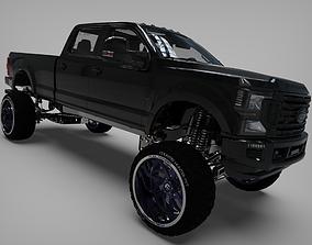 3D model 2018 Ford F250 Cencal truck