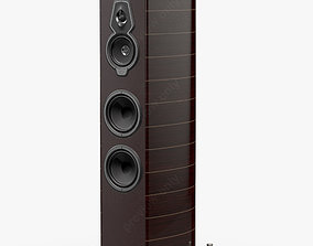 Sonus faber Serafino Tradition Wenge 3D model
