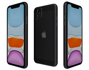 Apple iPhone 11 Black 3D