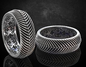 3D printable model The ring in the style of antiquity 5