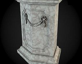 render Pedestals 3D model