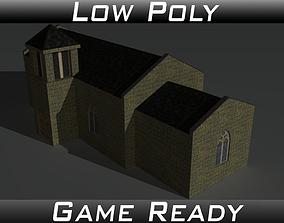 3D model Simple Church