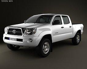 Toyota Tacoma Double Cab 2011 3D