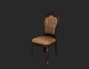 3D asset Antique Chair