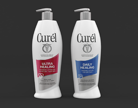 3D model Curel Daily Healing Body Lotion