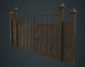 Gate 3B 3D asset