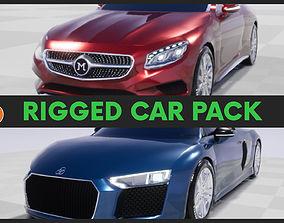 Car Pack-Game Ready-UE4 3D asset
