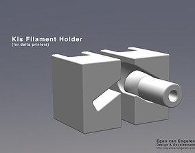 Kis Filament Holder for delta printers
