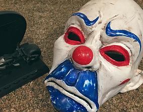 Clown Mask Dark Knight Cosplay 3D printable model 2