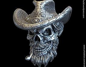 3D printable model Skull gangster vol4 pendant