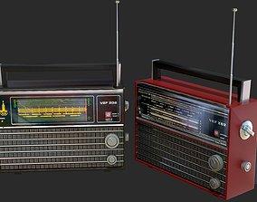 VEF 202 Soviet Union radio 3D asset