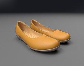 3D model low-poly Women Shoe