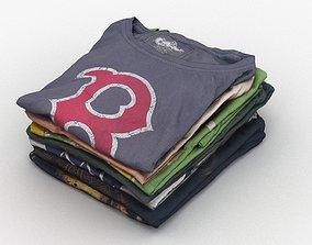 T-Shirts 003 3D model