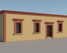 3D Mexican House 3 Houses architecture