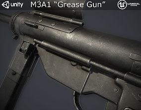 M3A1 Grease Gun 3D asset