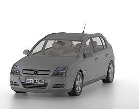 Opel Signum 3d model car