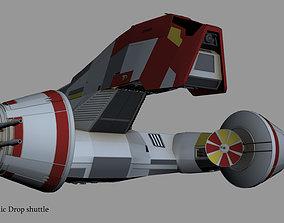 Republic drop shutte KT 400 3D