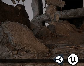3D asset Rubble and Debris - Package - Collection 1 and