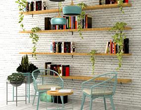 3D Coffee Corner - Cafe and restaurant interior design