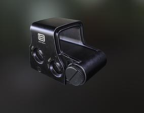 EOTech XPS2-1 holographic scope 3D asset
