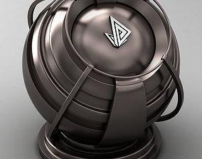 3D model VRAY SHADER---METAL---Zirconium Hydride