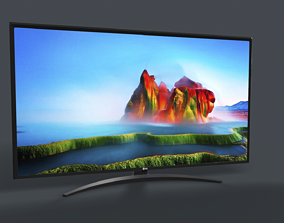 3D asset LG 50 Smart TV