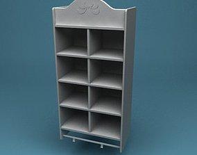 Spice Kitchen Shelf 3D model